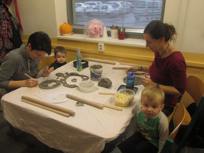 Mateřské centrum – Keramika