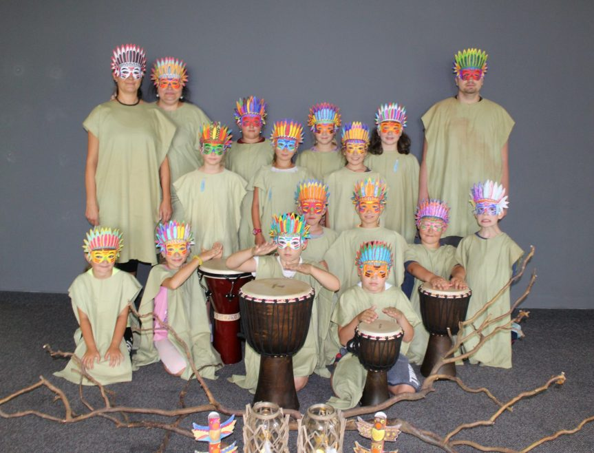 Příměstský tábor Indiánské výtvarné léto – fotoohlédnutí